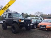 1998 LAND ROVER DISCOVERY 2.5 TDI ES 5DR AUTO MONSTER TRUCK