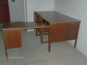 FOR SALE; Office desk/computer ext./chair .