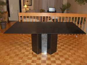 GRANITE TABLE RECTANGULAR