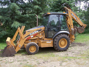 2008 case 580 backhoe super m