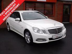 2012 12 MERCEDES-BENZ E CLASS E220 CDI BLUEEFFICIENCY EXECUTIVE SE 2.1 4D AUTO D
