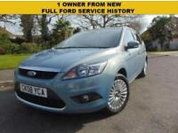 SUPERB FORD FOCUS 1.8 125 TITANIUM FULL FORD SERVICE HISTORY 1 OWNER FROM NEW