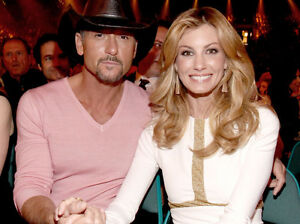 ==**CHEAP! (2) IN A ROW! TIM McGRAW & FAITH HILL - SECTION 107==