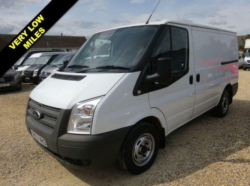 c08209abe5434d 2013 63 FORD TRANSIT 2.2 TDCI 260 SWB LOW ROOF 100 BHP ONLY 8447 MILES FROM  NEW