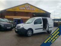 2016 66 RENAULT KANGOO 1.5 ML19 BUSINESS DCI 90 BHP 1 OWNER LOW MLS DIESEL