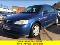 2002 02 VAUXHALL ASTRA ENVOY 1.6 AUTOMATIC 5DR 85 BHP