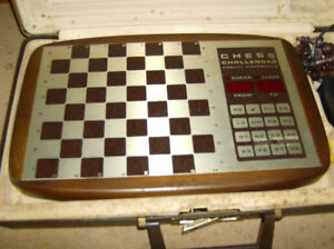 Vintage Electronic Chess Challenger Game