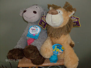 2 Brand new dog toys (Labels still on!) Buy 2, Get 2 toys FREE! Stratford Kitchener Area image 2