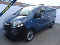 2015 15 VAUXHALL VIVARO 1.6 2700 L1H1 CDTI P/V 1D 89 BHP CHOICE OF 7 FROM POUND
