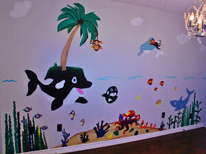 Customized Baby Nursery and Bedroom Murals Stratford Kitchener Area image 1