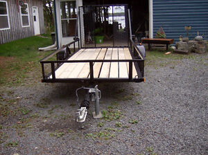 NEW 5 x 12ft UTILITY TRAILER