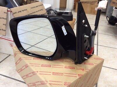 2013 2014 2015 Lexus LX570 Mirror BLACK OEM LEFT SIDE Warranty refund $150