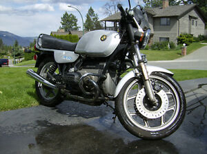 1985 BMW R80 in excellent condition