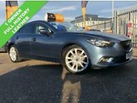 2013 Mazda 6 2.0 SPORT NAV 4d 163 BHP Saloon Petrol Manual