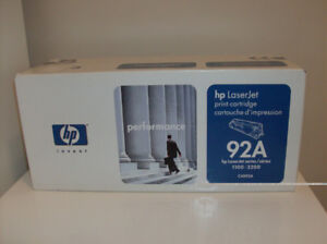 1/2 Price NEW HP Toner - Laser Jet 92A  Box never opened