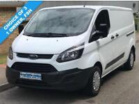 14(14) FORD TRANSIT CUSTOM L2H1 290 LWB LOW ROOF 100 BHP CHOICE AVAILABLE