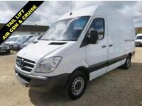 2013 63 MERCEDES-BENZ SPRINTER 2.1 313 CDI MWB HI ROOF 130 BHP WITH TAIL LIFT 76