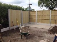 🔨🌟Top Quality Super Heavy Duty Pressure Treated Flat Top Fence Panels