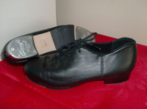 Tap Shoes - Like New - Capezio Black Leather + Skechers  Shoes