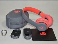 Beats Solo 2 Wireless (Active Red)
