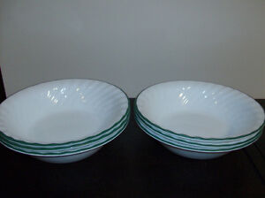 6 Corelle Bowls Like NEW - Less than 1/2 Price Like New