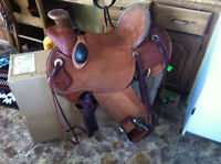 Great ranch saddle for sale!