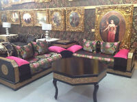 SALON MAROCAIN MAYDA 24 MOIS %000 INTERET OUVERT 7 JOUR 9 TO 6