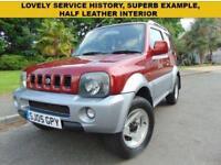 SUPERB 2005 PETROL SUZUKI JIMNY 1.3 MODE SERVICE HISTORY DRIVES BEAUTIFULLY