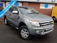 2013 63 FORD RANGER 2.2 LIMITED 4X4 DCB TDCI 1D 148 BHP DIESEL