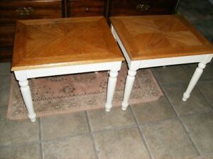 2 SMALL TABLES - $10 each