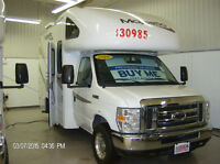 COMPACT SIZE 19' Class C Motorhomes for Sale, FREE Warranty!!!