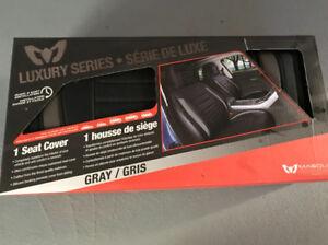 Housses de siège d'auto rembourrée de luxe x2