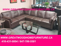 BLACK FRIDAY SALE !!! SECTIONAL SOFA WHITE OR CHOCOLATE...$599