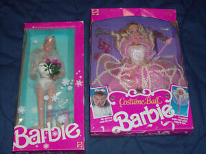 1990 Barbie- Costume Ball-Factory Sealed in box
