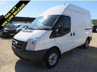 2011 60 FORD TRANSIT 350 MWB 2.4 TDCI HIGH ROOF WITH TAIL LIFT 12839 MILES DIES