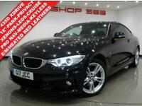 2015 BMW 4 SERIES 3.0 435D (313 BHP) XDRIVE M SPORT AUTO COUPE NAV..RED LEATHERS