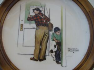 Norman Rockwell Collector Plate Kingston Kingston Area image 1