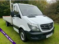 Mercedes Sprinter 314Cdi (Euro6) 3.5t. 17ft (5m.) ***EXTRA LONG *** Dropside