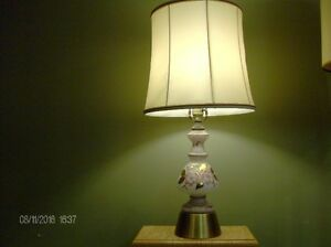 Vintage Hand Painted Table Lamp from Germany Stratford Kitchener Area image 1