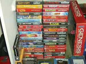 Looking to buy all sega genesis games video games