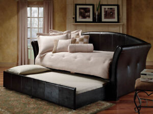 ERICA DAY BED WITH PULL OUT TRUNDLE