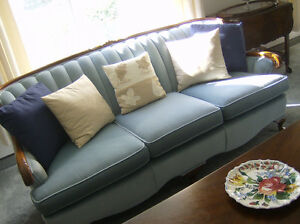 Antique French Provincial Sofa And Chair