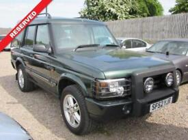 2002 52 LAND ROVER DISCOVERY 2.5 TD5 S 5D 136 BHP DIESEL