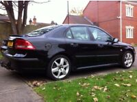 54 SAAB 9-3 1.9 TID 16V 83K LOW MILEAGE FULL SERVICE HISTORY HPI CLEAR 150 BHP PRIVATE NUMBER PLATE