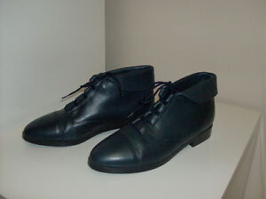 Ladies Boots Navy Leather + Sketchers Sports Shoes  Size 7