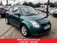 2005 SUZUKI SWIFT GLX 1.5 VVTS LONG MOT PETROL 5DR 101 BHP