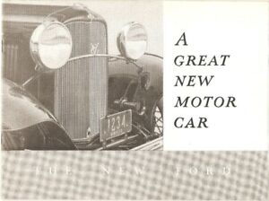 Antique Car Parts, Manuals and Brochures
