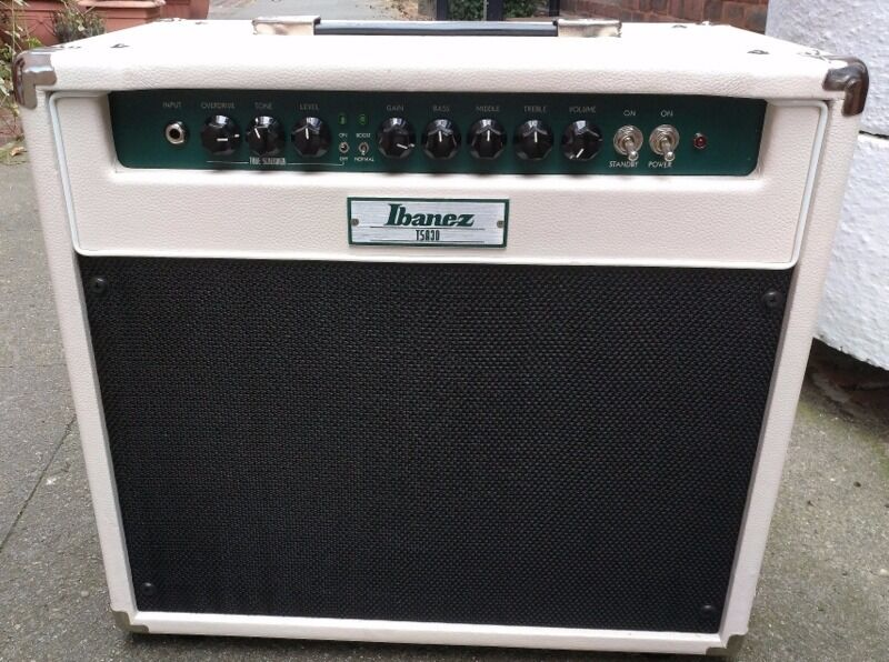 Ibanez Tube Screamer Combo 30 wattin Queens Park, LondonGumtree - Ibanez TSA30 Tube Screamer All Tube Electric Guitar 30w Combo Amplifier Ibanez TSA30 Tubescreamer All Tube 30watt Combo Amplifier The Ibanez TSA30 Guitar Valve Amplifier Combo is a 30 Watt Tube Amplifier, featuring Genuine Valves and a 12 inch...