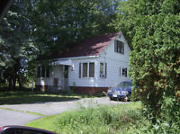 Private home on 1/2 acre lot