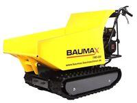 Track Barrow/Dumper hydraulic tip 110 Deg 650 Kg Capacity